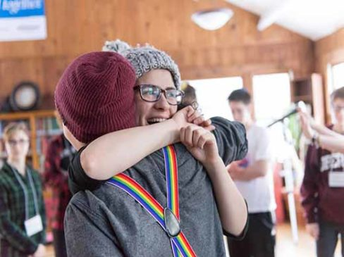 LGBTQ & Ally Teen Shabbaton Retreats