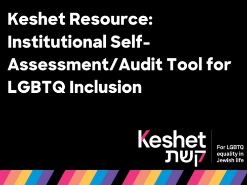 Institutional Self-Assessment/Audit Tool for LGBTQ Inclusion