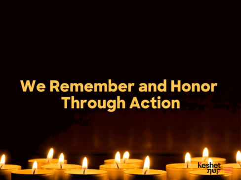 We Remember and Honor Through Action